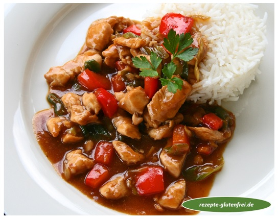 Huhn in Hoisin-Sauce 1