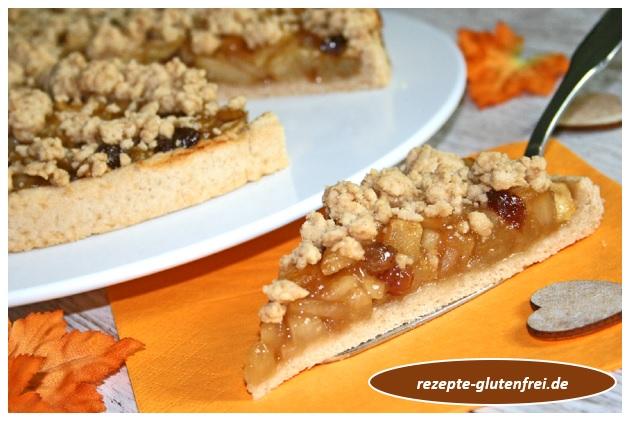Veganer Apfelkuchen Mit Streuseln Tanja S Glutenfreies Kochbuch
