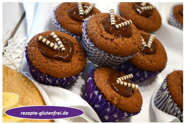 Bananen Kakao Muffins Tanja S Glutenfreies Kochbuch