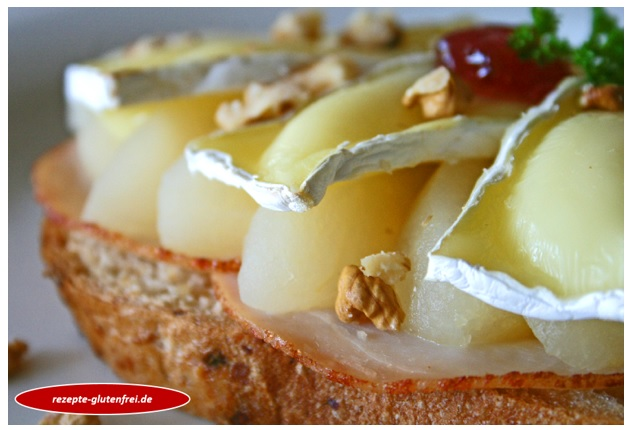 Birnen-Camembert-Toast 1