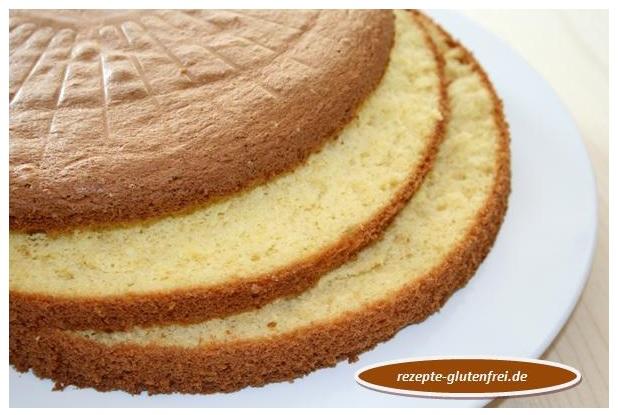 Heller Biskuit Fur Torten Tanja S Glutenfreies Kochbuch