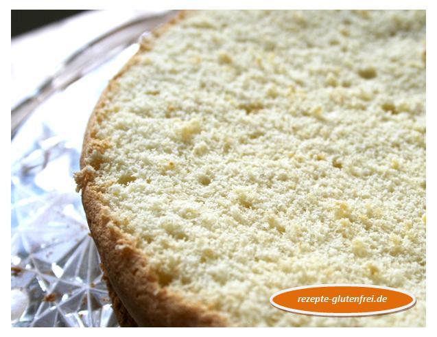 Heller Biskuit für Kuchen - Tanja`s glutenfreies Kochbuch
