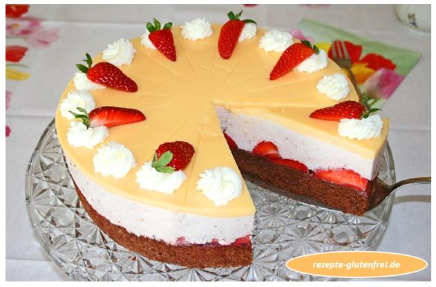 Erdbeer-Eierlikör-Torte 1