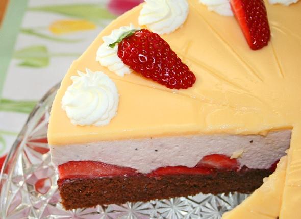 Erdbeer-Eierlikör-Torte 2