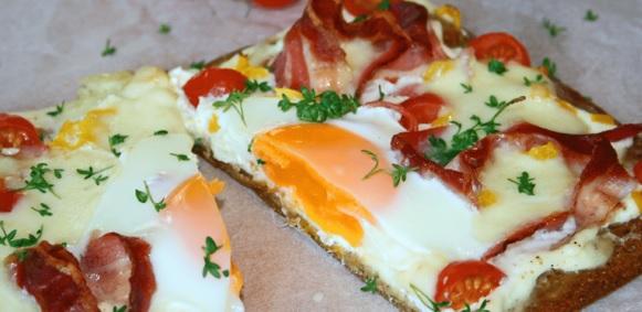 Frühstücks-Lizza 1