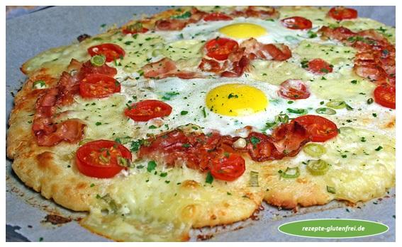Frühstückspizza Tanjas Glutenfreies Kochbuch