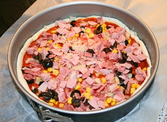 Gefüllte Pizza 5