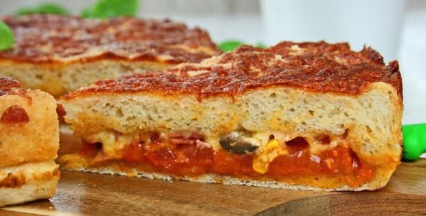 Gefüllte Pizza 9