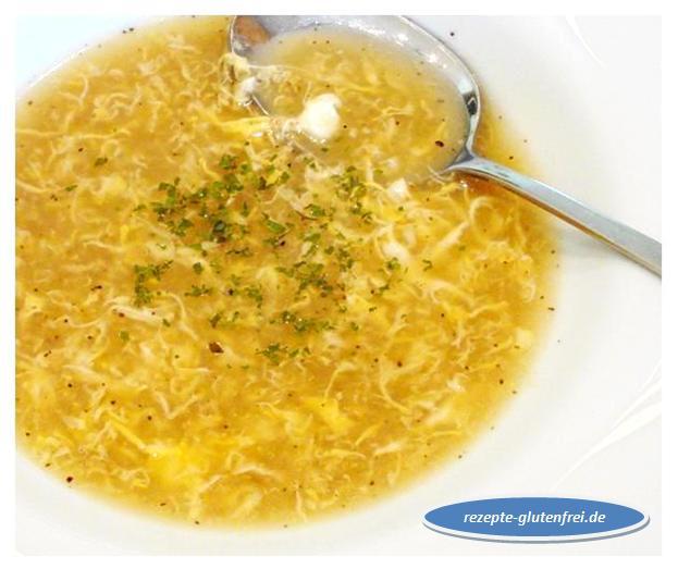 Geröstete Grießsuppe