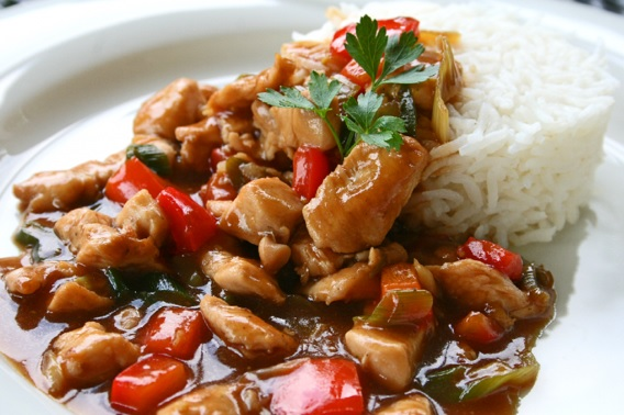 Huhn in Hoisin-Sauce 2