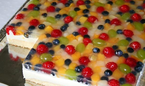 Joghurt Frucht Schnitten Tanja S Glutenfreies Kochbuch
