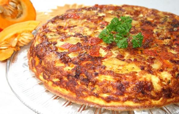 Kürbis-Kartoffel-Tortilla 1