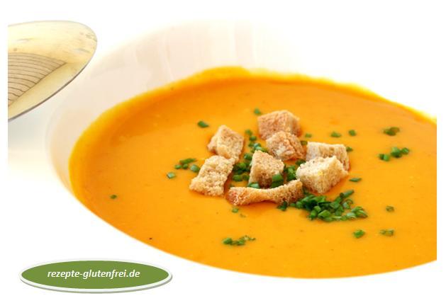 Kürbis - Kokoscreme - Suppe