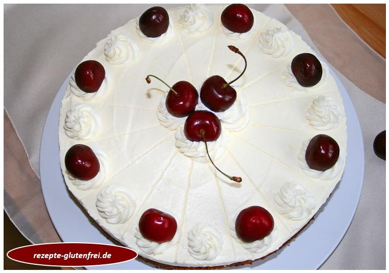 Kirsch Schmand Kuchen Tanja S Glutenfreies Kochbuch