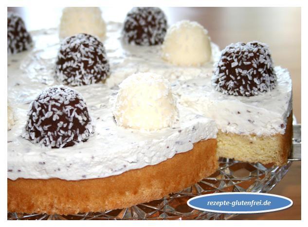 Kokos Schaumkuss Torte Tanja S Glutenfreies Kochbuch