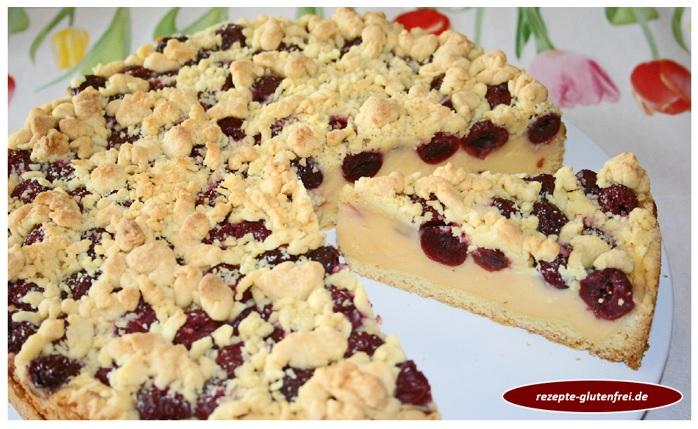 Obstkuchen mit Vanillecremefüllung 1