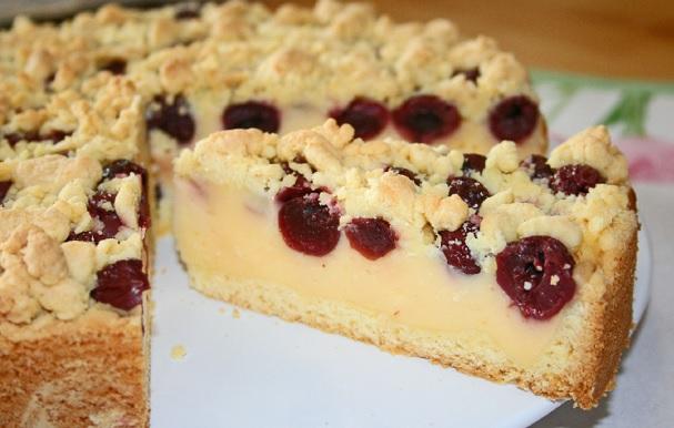 Obstkuchen mit Vanillecremefüllung 2