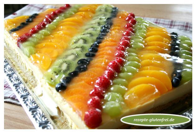 Obstkuchen Mit Puddingfullung Auf Dem Blech Tanja S Glutenfreies