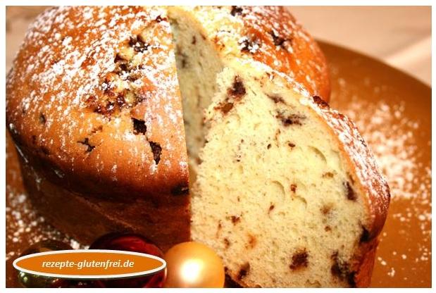 Panettone Mit Schokostuckchen Tanja S Glutenfreies Kochbuch