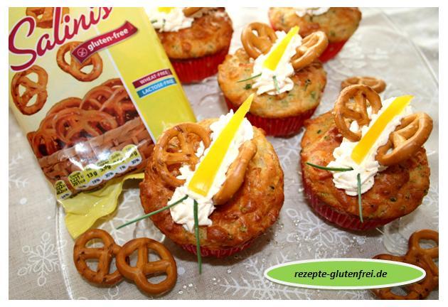 Pikante Schinken-Käse Muffins