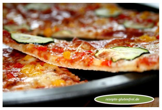 Pizzaboden Knusperdünn Tanjas Glutenfreies Kochbuch