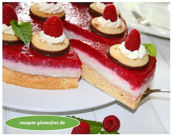 Himbeer Puddingkuchen Tanja S Glutenfreies Kochbuch