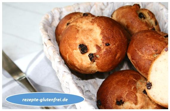 Süße Brötchen Rosinen Und Schokobrötchen Tanjas Glutenfreies