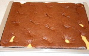 Schoko Kasekuchen Auf Dem Blech 3 Tanja S Glutenfreies Kochbuch