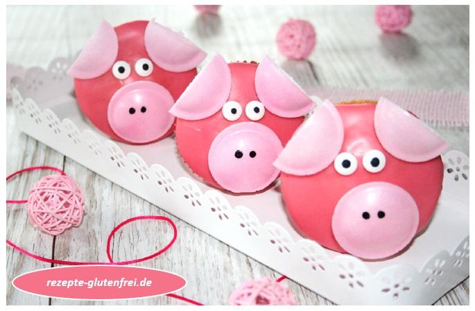 Schweinchen Muffins 1a