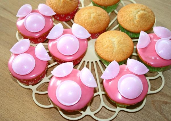 Schweinchen Muffins 1abc