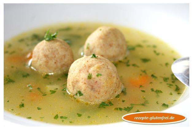 Semmelklößchen Suppe