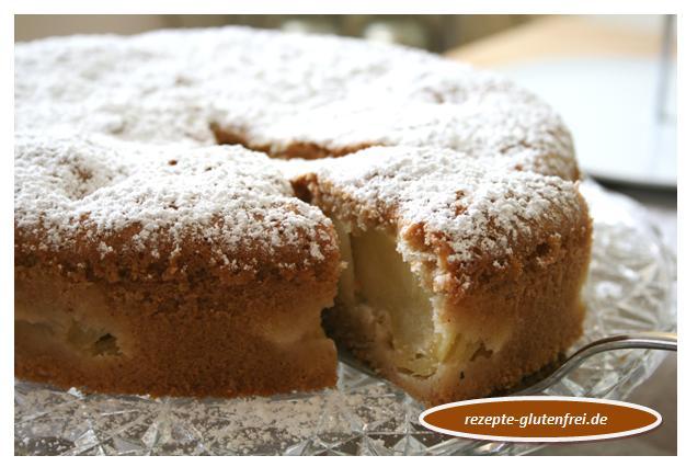 Versunkener Apfelkuchen Tanja S Glutenfreies Kochbuch