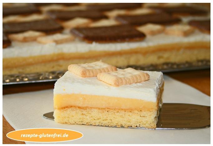Zitronen Butterkeks Schnitten Tanja S Glutenfreies Kochbuch