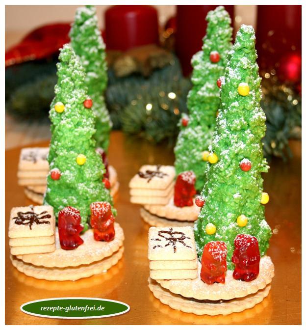 Zuckersüße Weihnachtsbäumchen