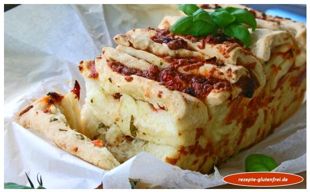 Zupfbrot Tomate Mozzarella 8